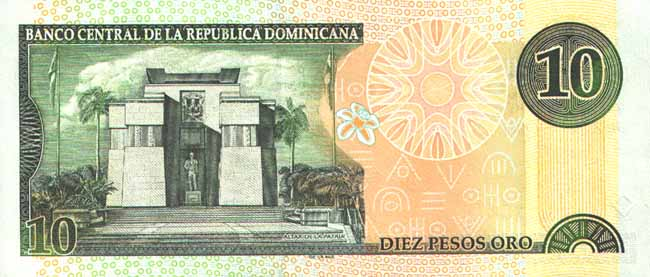 Dominican Republic, 10 pesos